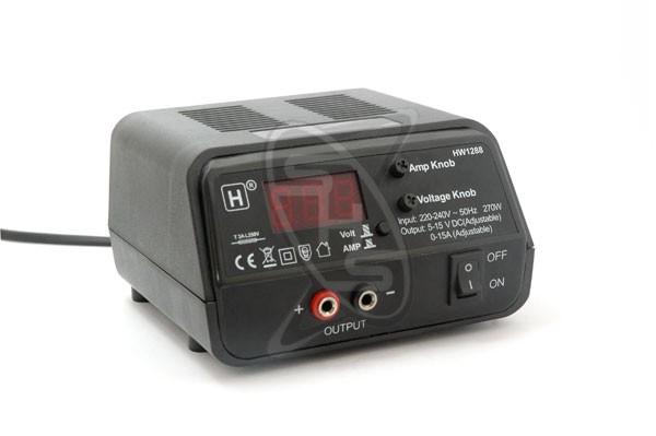 Singahobby Power Supply 5-15V 0-15A (Adjustable)