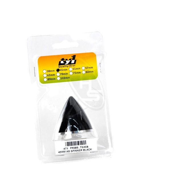 PROSTAR 45mm AB Spinner (Black)