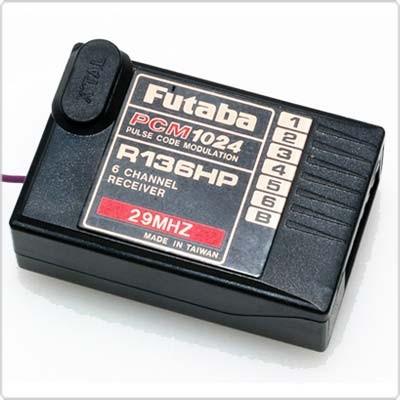 R136HP 6 channel PCM receiver (29MHz)