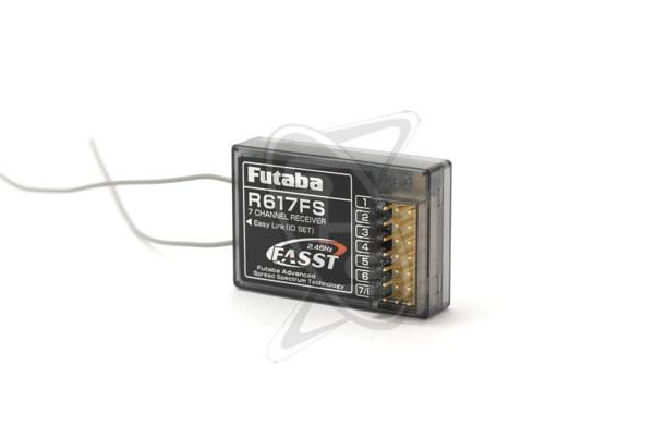 Futaba R617FS 2.4GHz 7-Channel Receiver