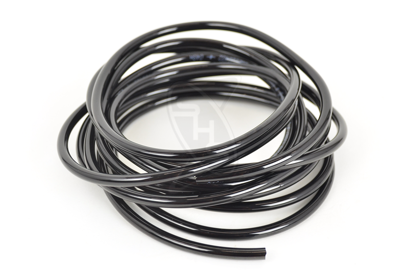 SINGAHOBBY Pneumatic Tubing - 4 x 6 x 3700 mm (Black)