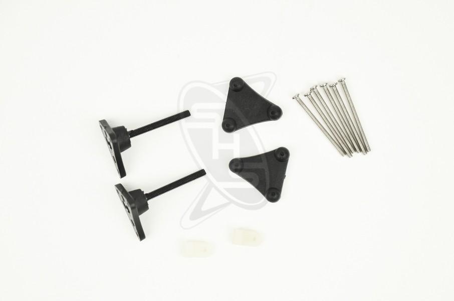SINGAHOBBY Adjustable Control Horns (M3x34xDIA2) - 2pc