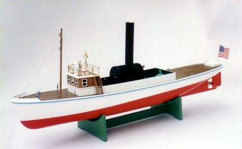 SAITO T-1 Steam Engine Boat Kit