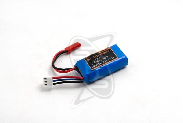 Tahmazo 2-cell 360mAh (35C) Lithium Polymer Battery
