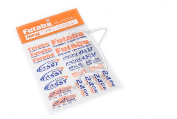 Futaba Cut Vinyl Decal Sticker Sheet 457675-2750