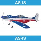 WORLD MODELS P-51 Mustang EP Miss America-Blue (As-Is)