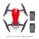 DJI Mavic Air with 2 Extra Batteries (Flame Red)