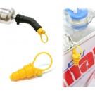K&S 2235 Exhaust Cap P (Yellow)