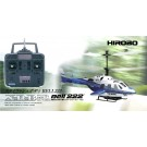 Hirobo 0301-955 XRB-SR Bell 222 Electric Helicopter with Transmitter Full Set