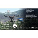 DJI S1000 Spreading Wing Premium Edition with A2 Flight Controller and Z15-BMPCC (for Blackmagic Pocket Cinema Camera)