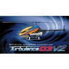 Hirobo 0414-947 Turbulence D3 V2 90 Size 3D Helicopter