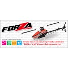 JR Forza 450 Flybarless Helicopter with Motor, ESC & Servos (Assembly Kit)