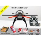 Quadframe SIXcopter with Futaba 6J Radio Package