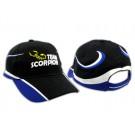 Scorpion Cap (Black/Blue)