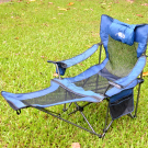 SINGAHOBBY Super Field Chair - Multi-Functional (Blue)