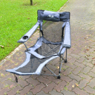 SINGAHOBBY Super Field Chair - Multi-Functional (Grey)