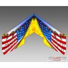 MS Composit Swift II Airbrush - Flag