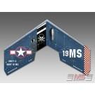 MS Composit Swift II Airbrush - Navy