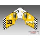 MS Composit Swift II Airbrush - Retro Yellow
