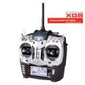 JR XG8 8-Channel Radio (Silver) with RG831B Receiver