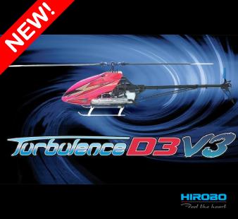 HIROBO Turbulence D3 V3